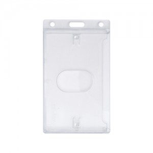 Polycarbonate Portrait ID Card Dispenser with Thumb Notch