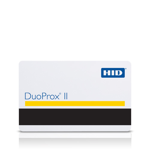 DuoProxCard II RF Programmable Proximity Card with Magnetic Stripe