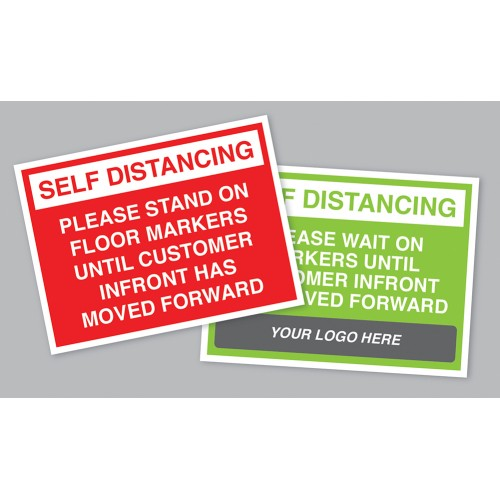 Window Stickers – 300 x 200mm – Pack of 5